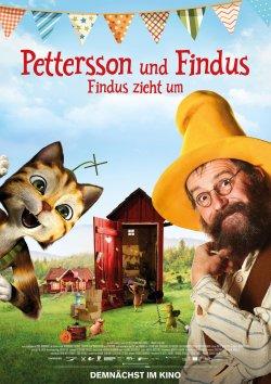 Pettersson und Findus - Findus zieht um - Plakat zum Film