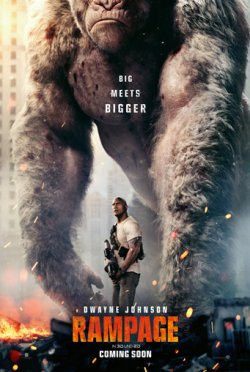 Rampage - Big Meets Bigger - Plakat zum Film