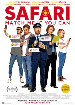 Safari - Match Me If You Can - Plakat zum Film