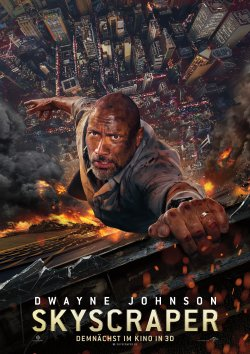 Skyscraper - Plakat zum Film