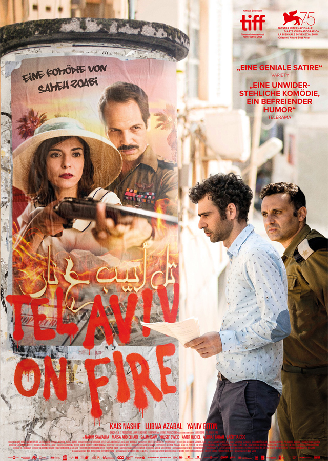 Tel Aviv On Fire - Plakat zum Film