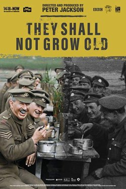 They Shall Not Grow Old - Plakat zum Film