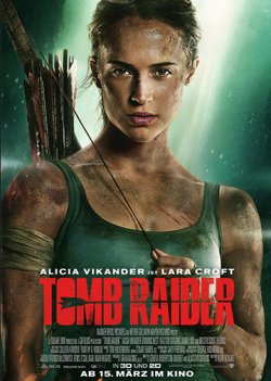 Tomb Raider - Plakat zum Film