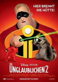 Die Unglaublichen 2 - Plakat zum Film