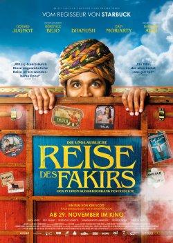 Die unglaubliche Reise des Fakirs, der in einem Kleiderschrank feststeckte - Plakat zum Film