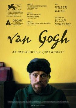 Van Gogh - An der Schwelle zur Ewigkeit - Plakat zum Film