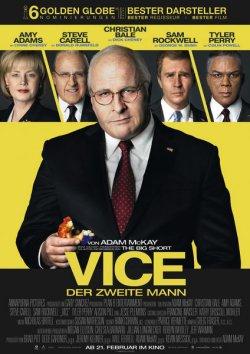 Vice - Der zweite Mann - Plakat zum Film