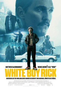 White Boy Rick - Plakat zum Film