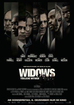 Widows - Tödliche Witwen - Plakat zum Film