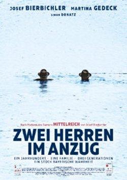Zwei Herren im Anzug - Plakat zum Film