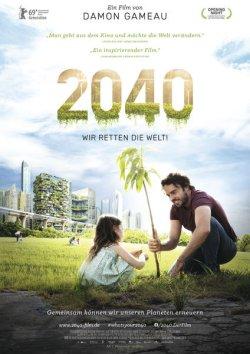 2040 - Wir retten die Welt - Plakat zum Film