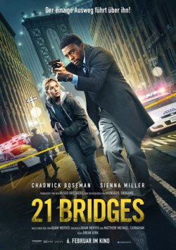 21 Bridges - Plakat zum Film