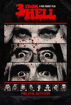 3 From Hell - Plakat zum Film