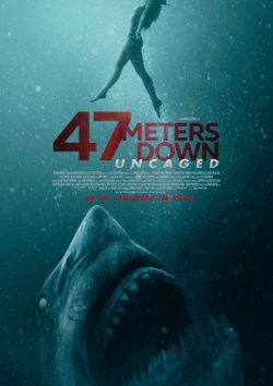 47 Meters Down: Uncaged - Plakat zum Film