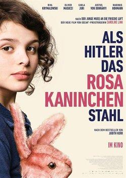 Als Hitler das rosa Kaninchen stahl - Plakat zum Film
