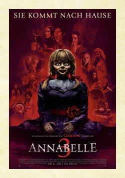 Annabelle 3 - Plakat zum Film