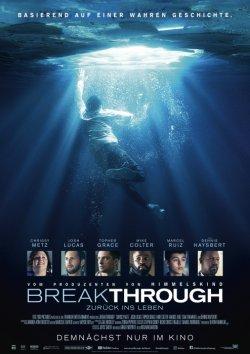 Breakthrough - Zurück ins Leben - Plakat zum Film