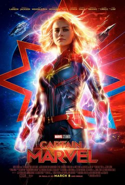 Captain Marvel - Plakat zum Film