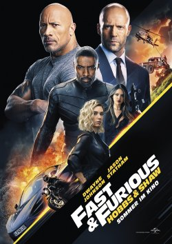 Fast And Furious: Hobbs And Shaw - Plakat zum Film