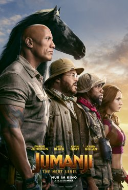 Jumanji: The Next Level - Plakat zum Film