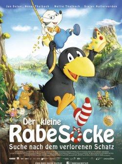 Der kleine Rabe Socke - Suche nach dem verlorenen Schatz - Plakat zum Film