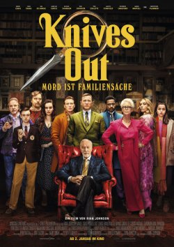Knives Out - Mord ist Familiensache - Plakat zum Film