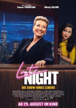 Late Night - Die Show ihres Lebens - Plakat zum Film