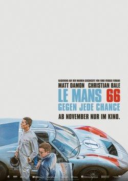 Le Mans 66 - Gegen jede Chance - Plakat zum Film