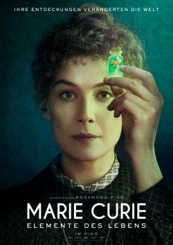 Marie Curie - Elemente des Lebens - Plakat zum Film