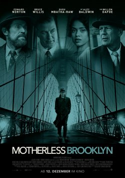 Motherless Brooklyn - Plakat zum Film