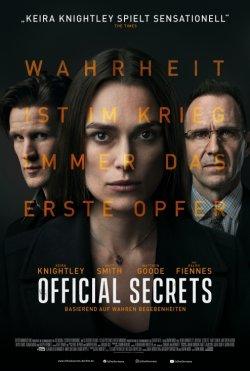 Official Secrets - Plakat zum Film