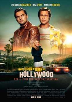 Once Upon A Time... In Hollywood - Plakat zum Film