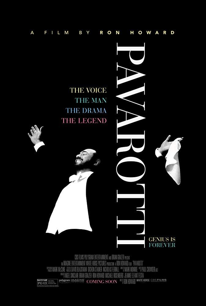 Pavarotti - Plakat zum Film