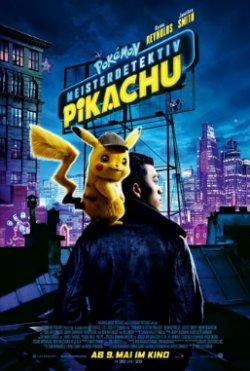 Pokemon Meisterdetektiv Pikachu - Plakat zum Film