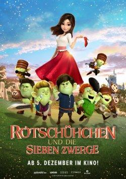 Rotschühchen und die sieben Zwerge - Plakat zum Film