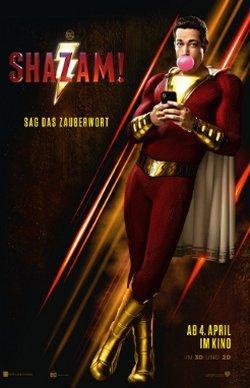 Shazam! - Plakat zum Film