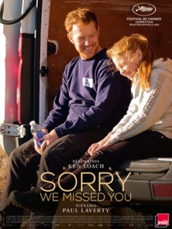 Sorry We Missed You - Plakat zum Film