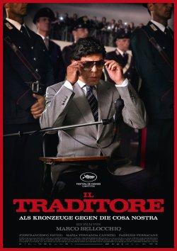 Il Traditore - Als Kronzeuge gegen die Cosa Nostra - Plakat zum Film