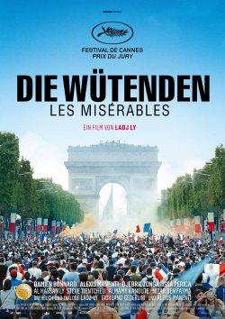 Die Wütenden - Les Miserables - Plakat zum Film