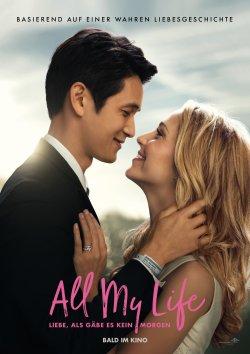 All My Life - Liebe, als gäbe es kein Morgen - Plakat zum Film