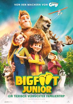 Bigfoot Junior - Ein tierisch verrückter Familientrip - Plakat zum Film