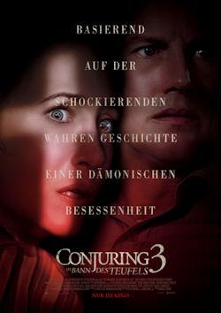 Conjuring 3: Im Banne des Teufels - Plakat zum Film