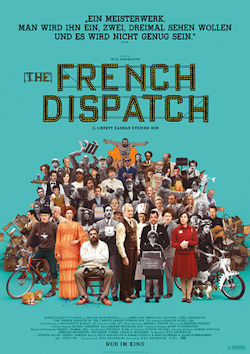 The French Dispatch - Plakat zum Film