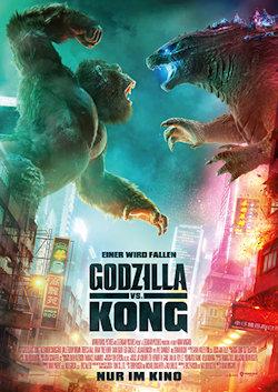 Godzilla Vs. Kong - Plakat zum Film