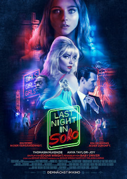 Last Night In Soho - Plakat zum Film