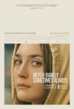 Niemals selten manchmal immer - Plakat zum Film