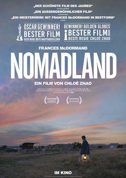 Nomadland - Plakat zum Film