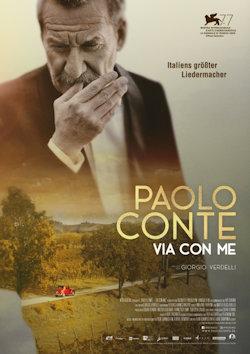 Paolo Conte - Via con me - Plakat zum Film