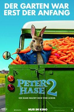 Peter Hase 2 - Ein Hase macht sich vom Acker - Plakat zum Film
