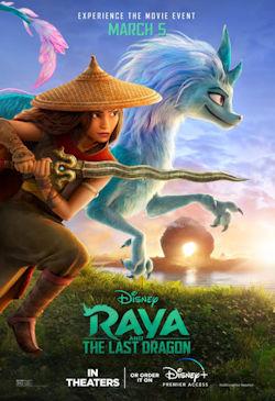 Raya und der letzte Drache - Plakat zum Film